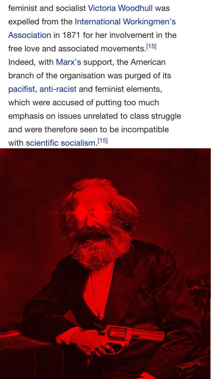 dongs in a marx - meme