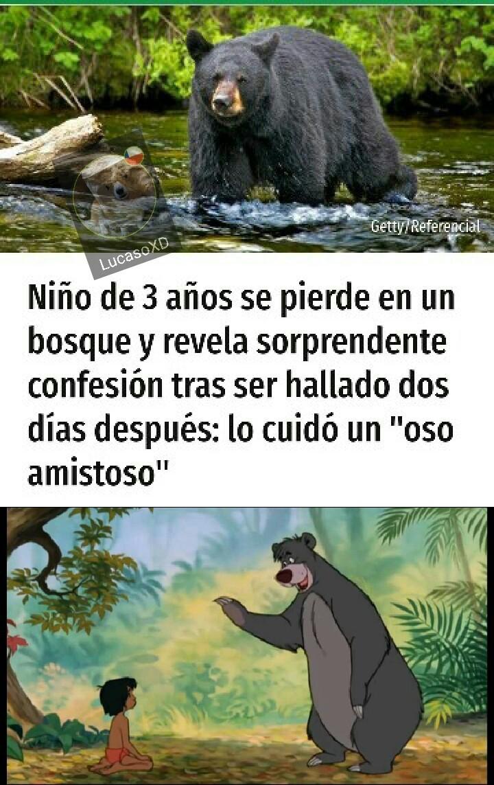 De ese niño crearon el libro de la selva - meme