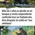 De ese niño crearon el libro de la selva