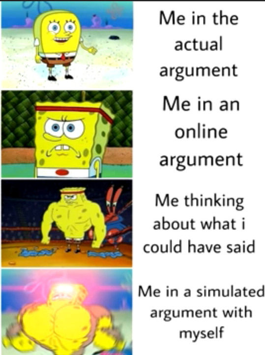 Me in real life conversations - meme
