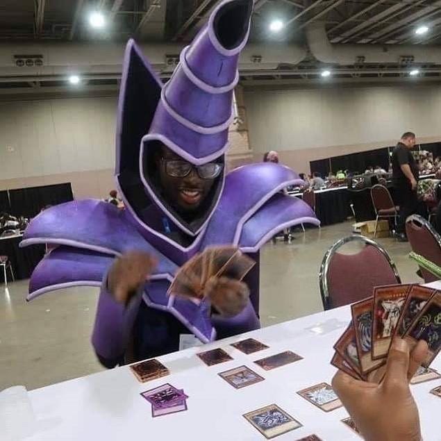 O Mago Negro é real - meme