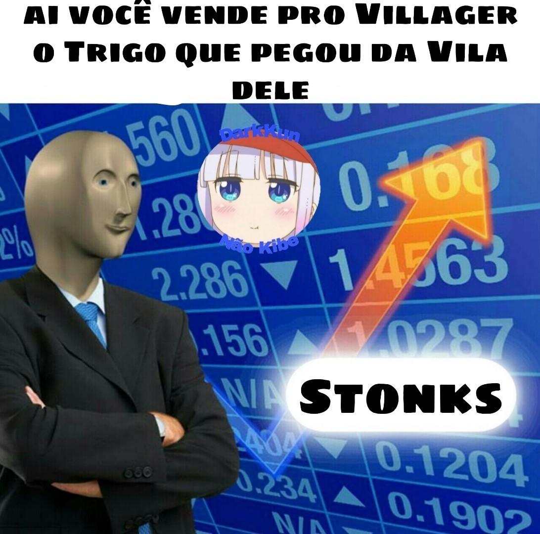 Stonks ↑ - meme