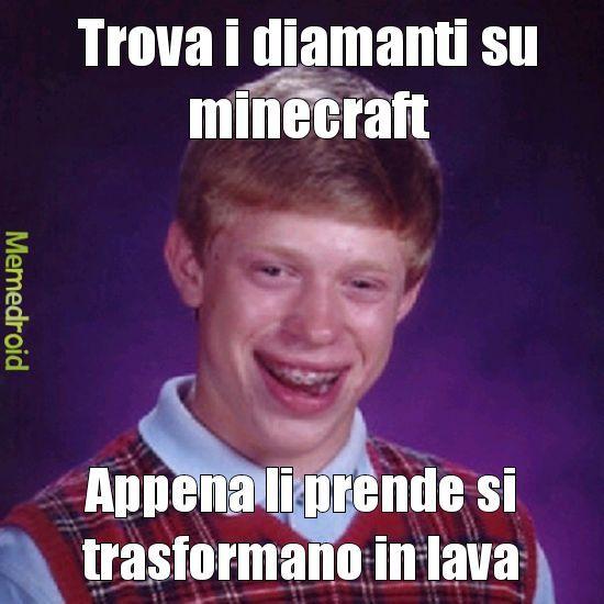 Lo sfortunato - meme
