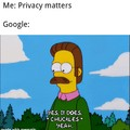 Privacy Vs Google