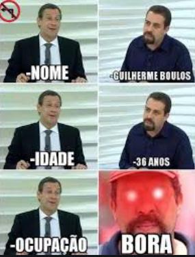 boulos ocupação - meme