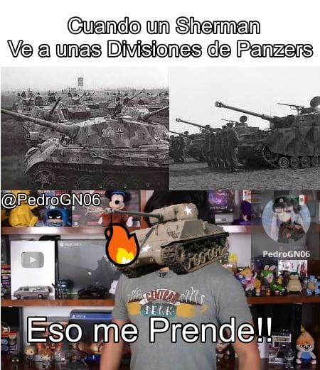 Sherman Incendiario - meme
