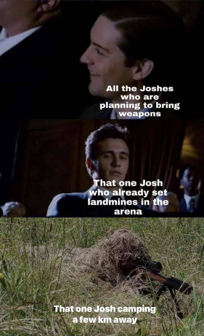 I'm betting on Josh Swain - meme
