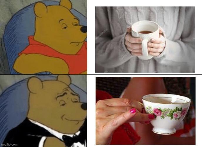cup o' tea - meme