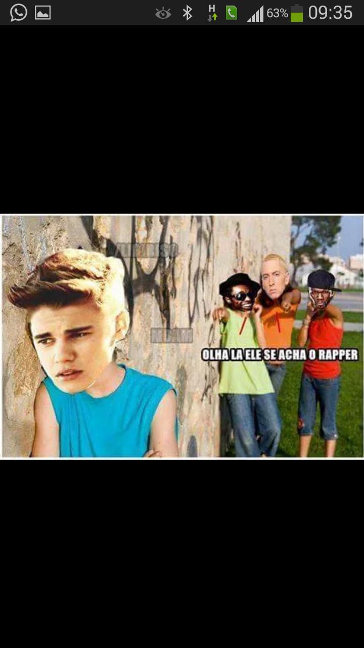 Justin Bieber lixooooooooo - meme
