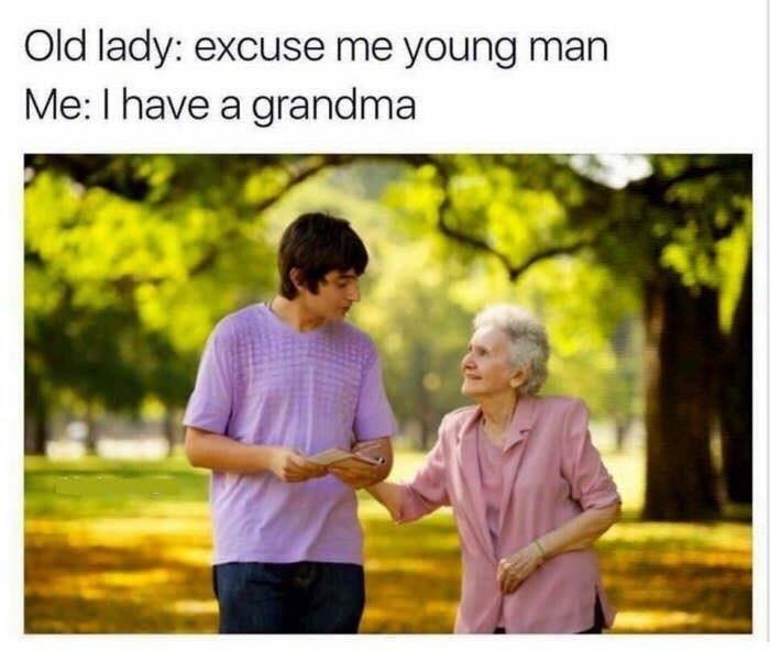 get away from me - meme