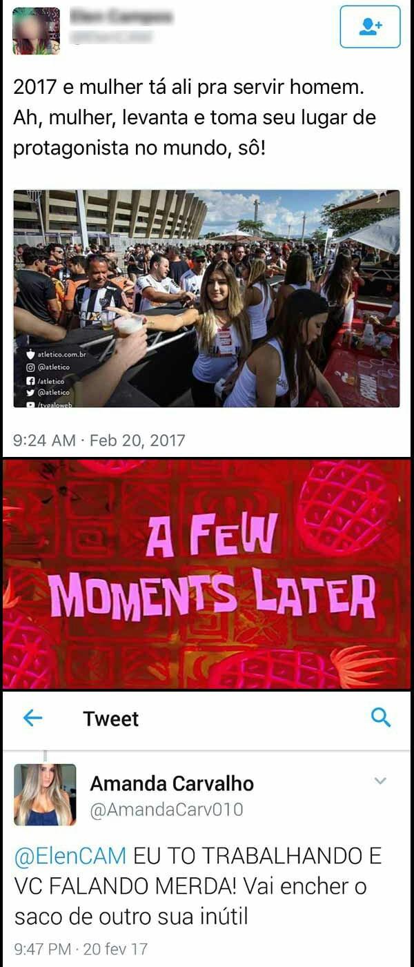 Toma feminista inútil - meme