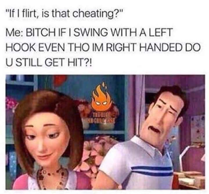 Imma flirt - meme