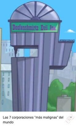 Doofenshmirtz malvados y asociados - meme