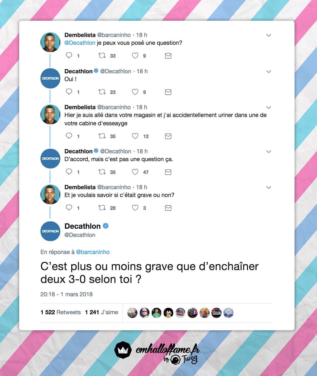 Les meilleurs CM Decathlon ! - meme