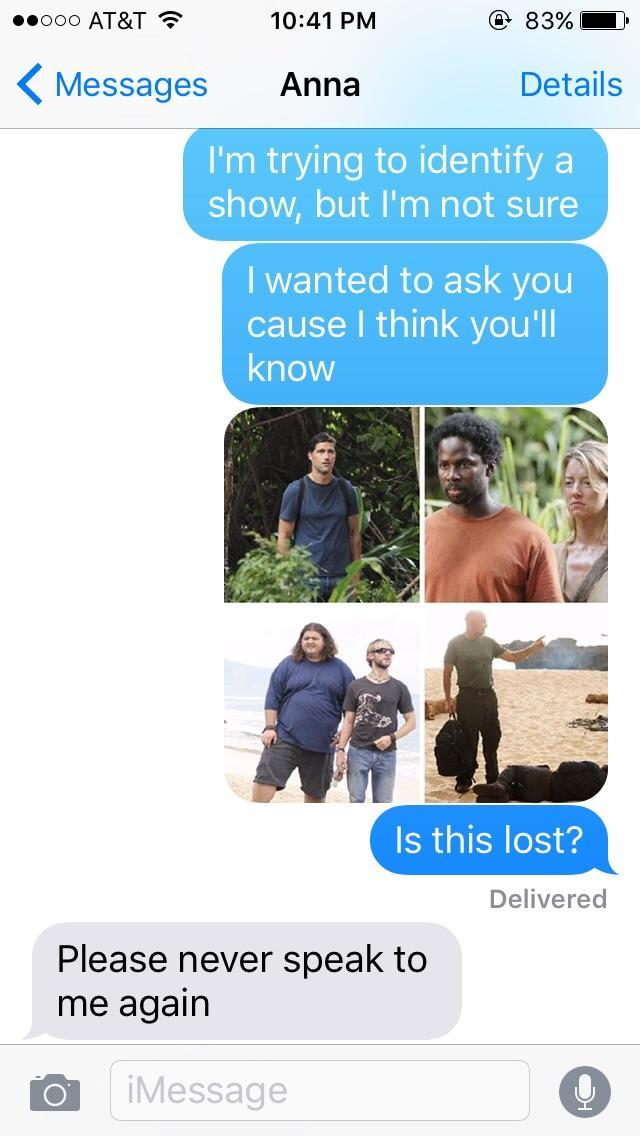 Is this lost? - meme