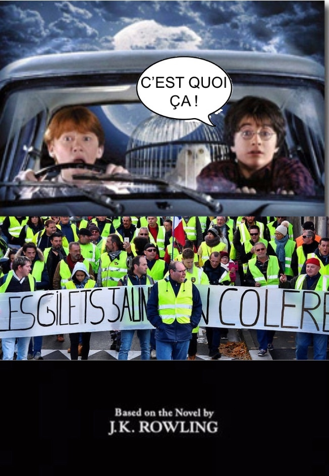 Si harry potter 2 se passait en France - meme