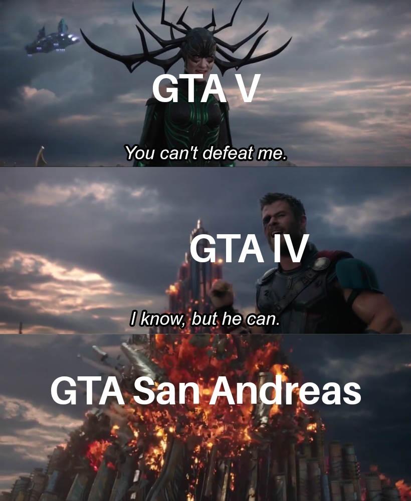 Gta Ragnarok - meme