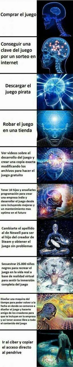 Mi primer expanding mind - meme