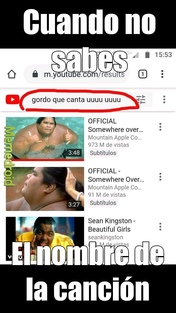 Youtube si es chevere.....Spotify no me entiende - meme