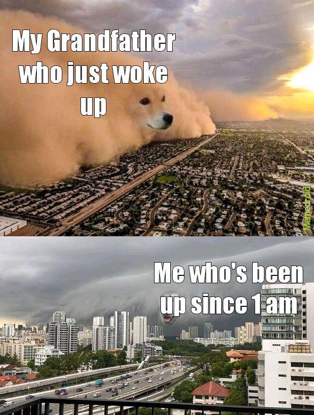 My basic sleep schedule - meme