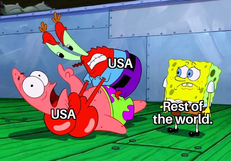 US sucks - meme