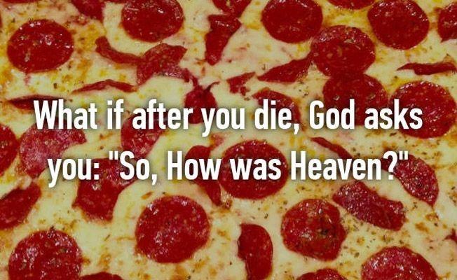 that was heaven? - meme