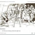 Sassy skeleton