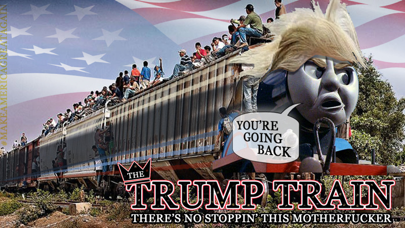 Trump train! WOO WOO - meme