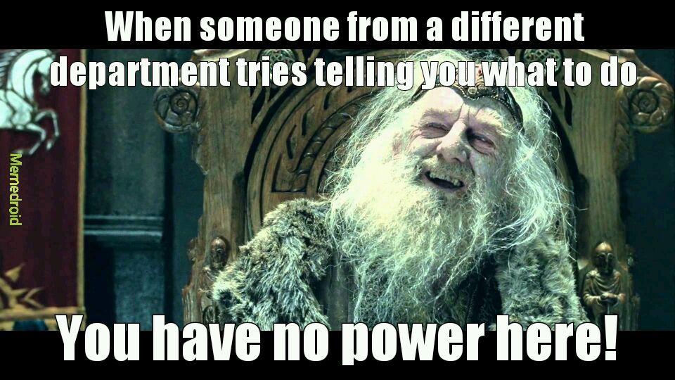 No power - meme