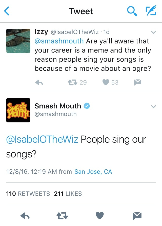 damn smash mouth - meme