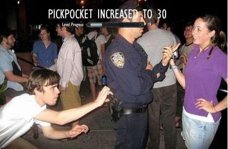 I used to be a gangsta like you but I took a popo's nightstick up my ass. - meme