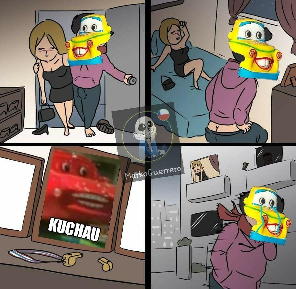 Mate del racho makkuin - meme