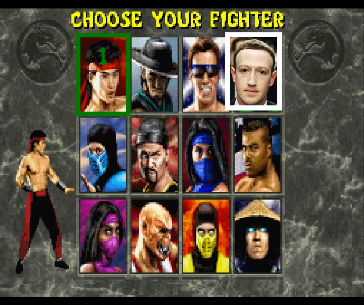 Sub zero is my favorite fighter - meme