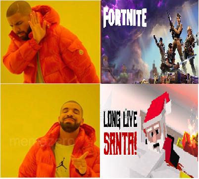 fortine is gay - meme