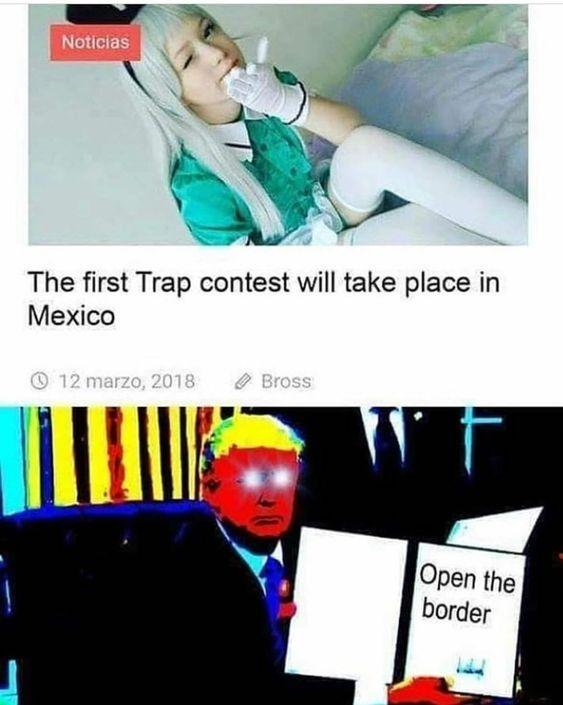 dont open the borders - meme