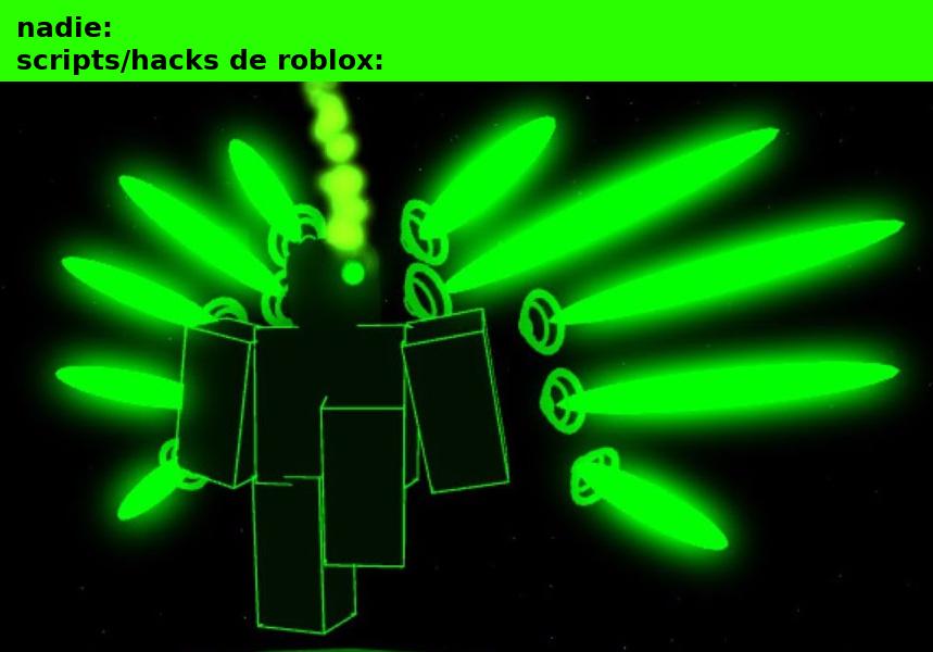 los exploits de roblox se hacen en visual studio - meme