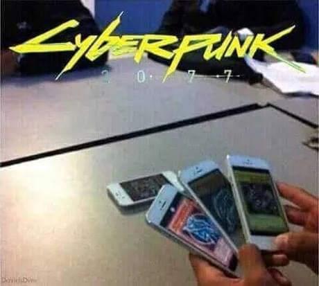 Pre order Cyberpunk 2077 - meme