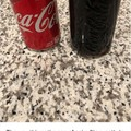 freshly peeled coke