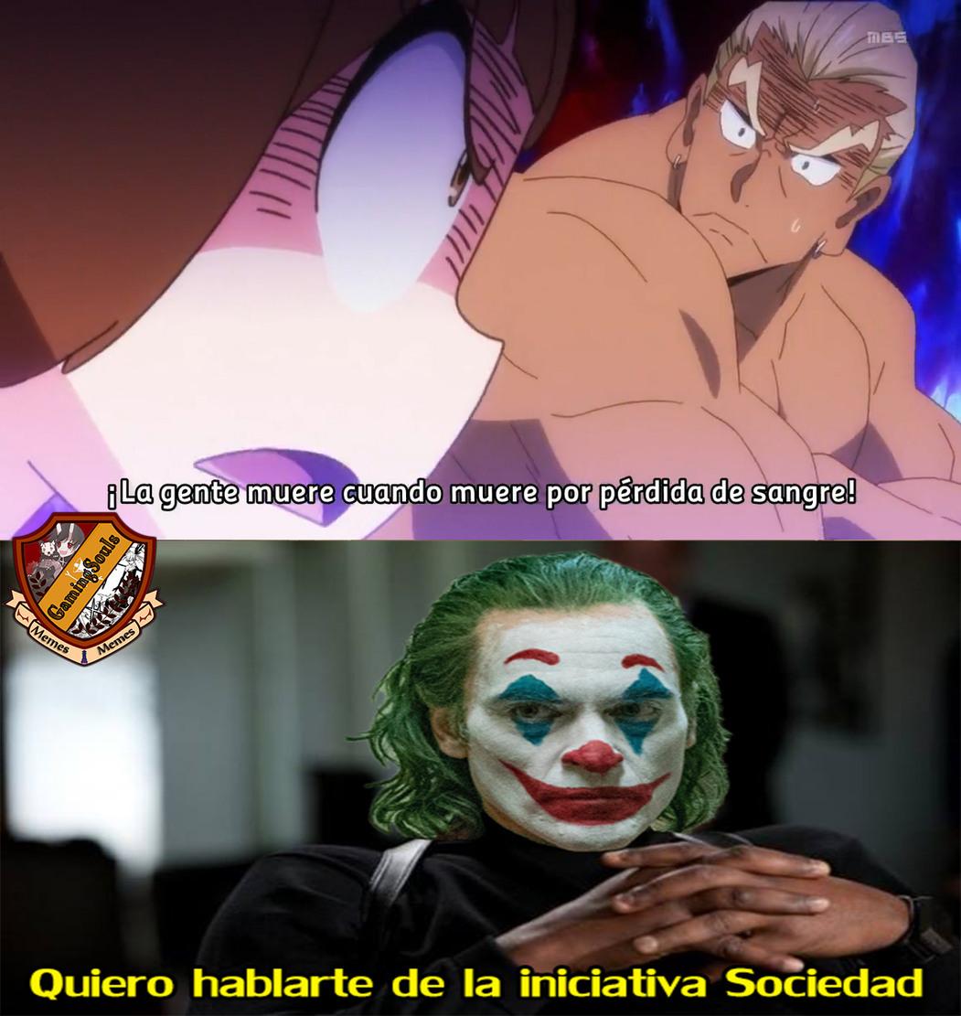 no se que titulo poner....     Anime: Kill la Kill - meme