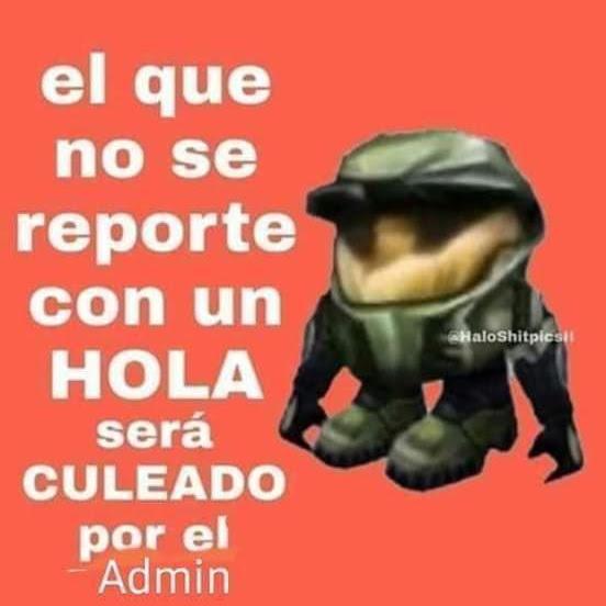 Digan Hola :) - meme