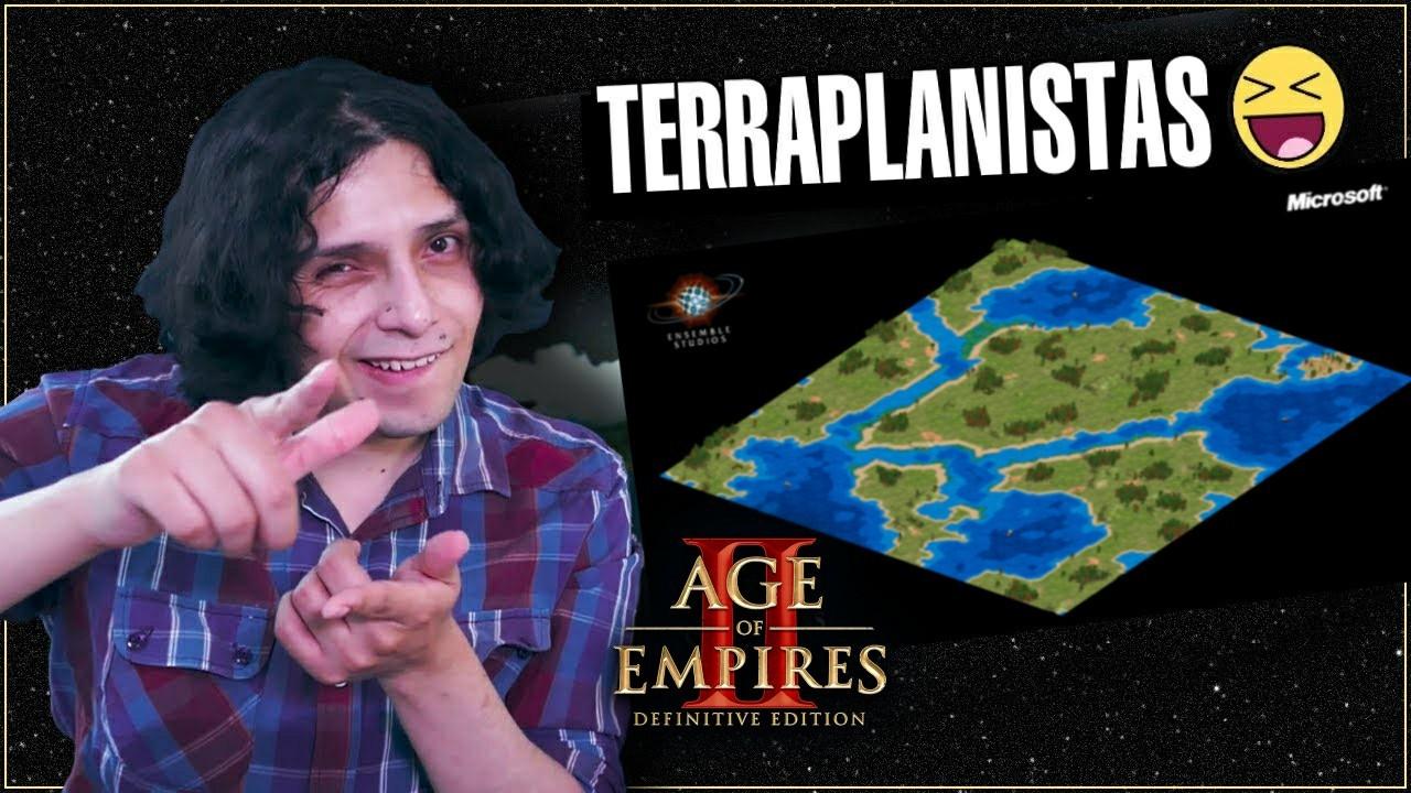 Me pregunto si los terraplanistas discutirán entre ellos si la tierra es plana circular o plana cuadrada - meme