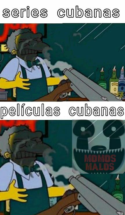 Pelotico, Xero, Qbano con sida, me recomiendan alguna serie o peli cubana? Que sea buena :) - meme