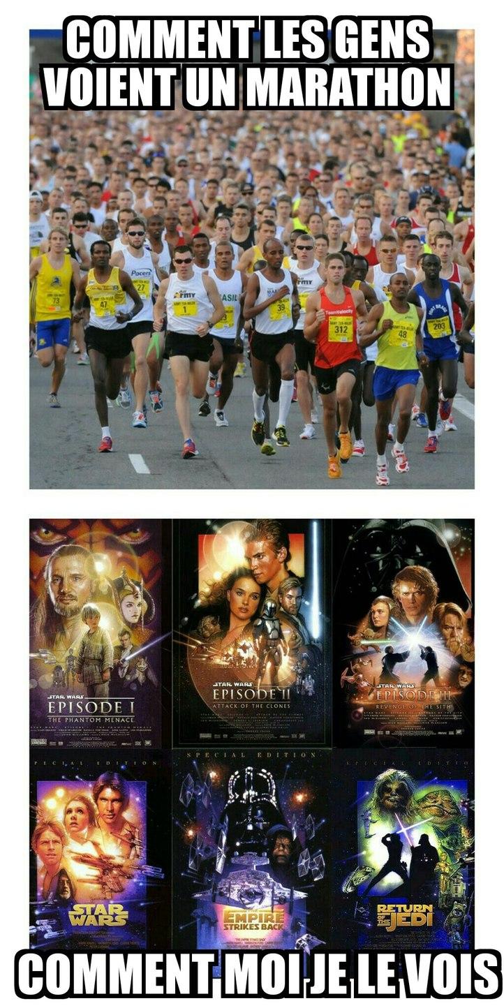 Ah les marathons... - meme
