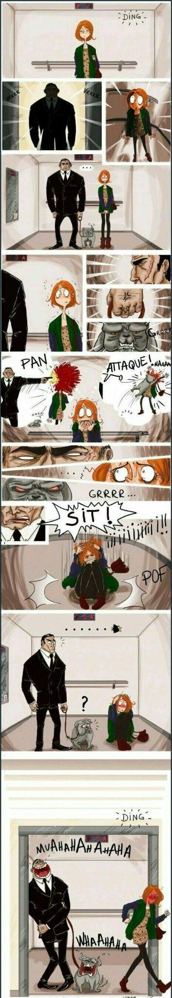 La wea miedosa - meme