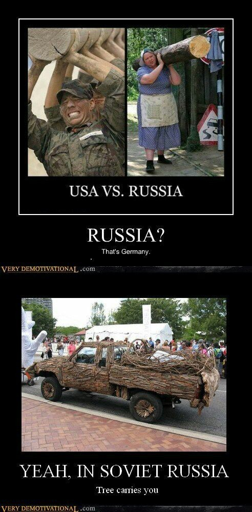 Soviet Russia - meme