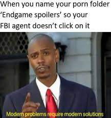Modern problems require endgame spoilers - meme