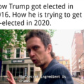 """I fully understand that a bunch of people will comment something like """"I don't like political memes"""". To them i say, then scroll past like you do with everything else crybaby."""