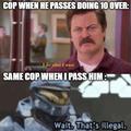 Cops in my town