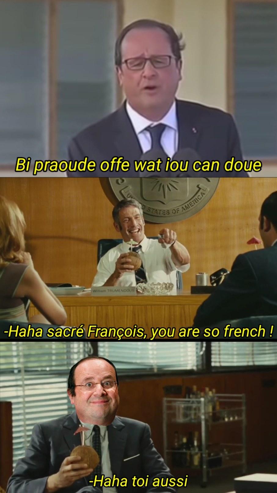 Le franglais bien sûr - meme