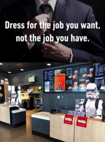 I wanna be a storm trooper - meme